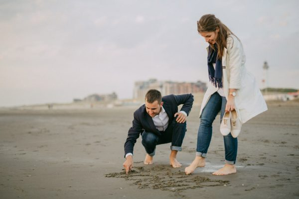 Holland Beach Engagement