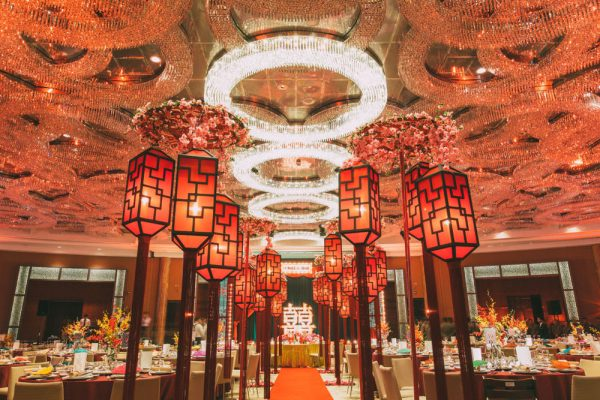 Old Shanghai Night Wedding