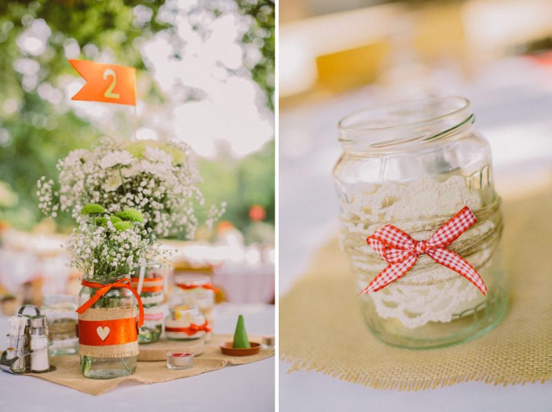 diy forest wedding decor