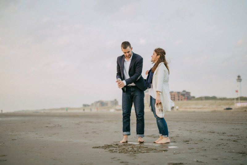 netherlands beach engagement