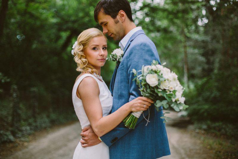 diy forest wedding